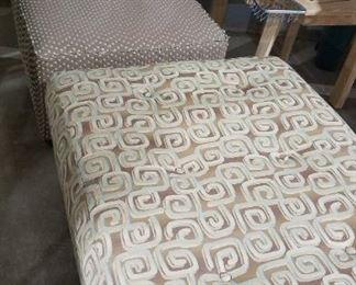 Vintage Chair Ottoman