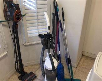 Vacuum cleaners galore