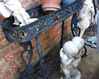$150 wrought iron plant stands; 2 available
