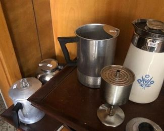 Several Coffee Pots
