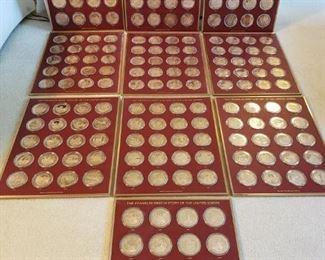 002 History of U.S. Bronze Coin Set