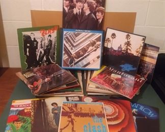 005 Iconic Classic Rock Albums More