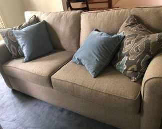 006 Havertys Upholstered Sofa Pillows
