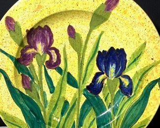 Italian Handmade Ceramiche Centerpiece