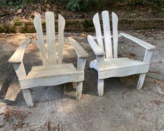 Antique Adirondack Chairs