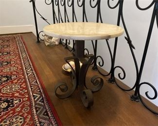 Onyx and Iron Table