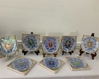 Blue Collectors Stamp Plates