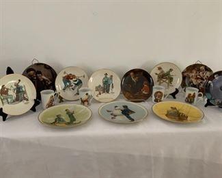 Norman Rockwell Decorative Plates