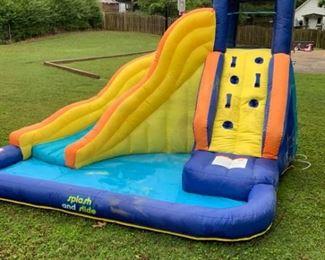 Splash and Slide Blowup