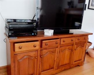 Storage sold! TV and other electronic still available