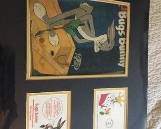 Bugs Bunny framed items