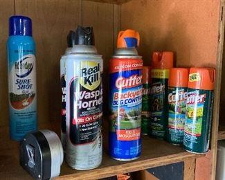 Assorted bug spray