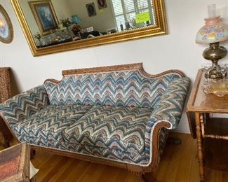 Beautiful East Lake Victorian Sofa