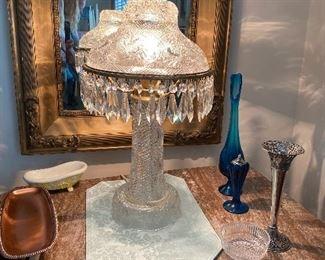 Beautiful parlor Crystal Lamp