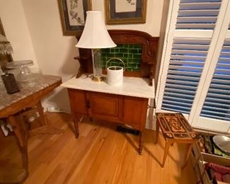 Sideboard Marble Top Table