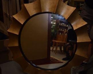 Pie crust mirror