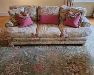 """Upholstered couch - 30"""" high x 88"""" wide x 40"""" deep"""