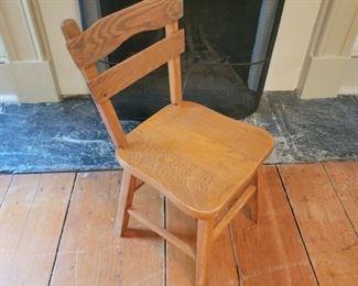 "child's chair - 23"" high x 11"" wide x 11"" deep"