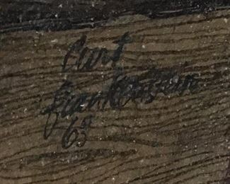 Signed and dated 1965