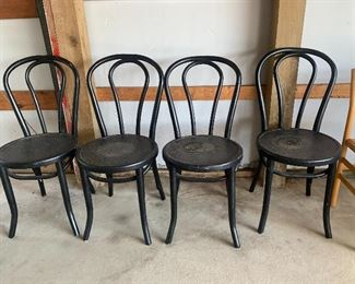 set of 4 parlor chairs