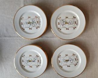 Festive Rosanna Plates