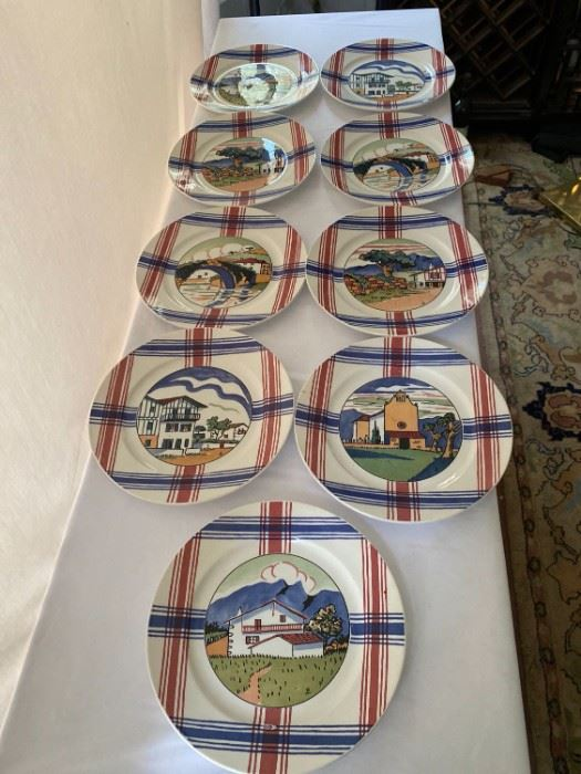 Ramuntcho Plates