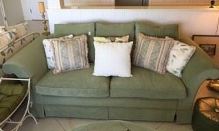 One of the sofas in the sale.