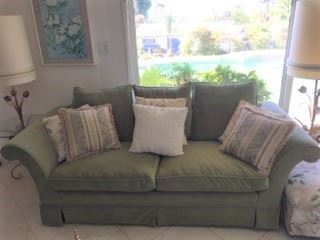 A matching sofa.