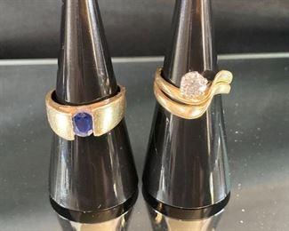 .75 Diamond Gold Ring
