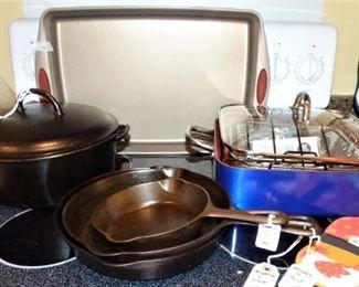 Griswold skillets & Dutch Oven