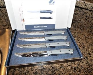 New Zakarian Cutlery steak knife set