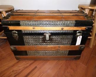 Antique Trunk Refurbished (See next picture of interior)