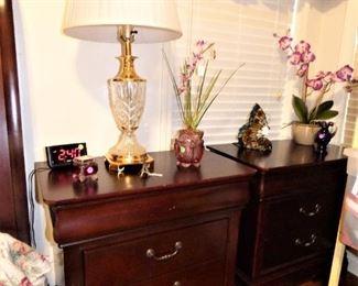 2 night stands, part of Queen bedroom suite