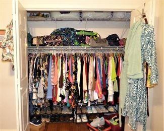 Ladies clothes Size 3X, Shoes Size 9