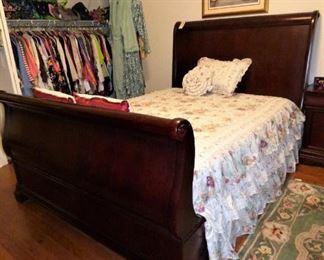 Queen Sleigh Bed (part of bedroom suite)