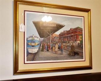 Framed Artist Proof By Joyce Perdue Smith