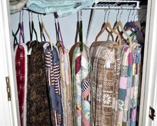 Hand Sewn Quilts, Blankets, Etc