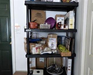 NEW in BOX kitchen appliances, etc.