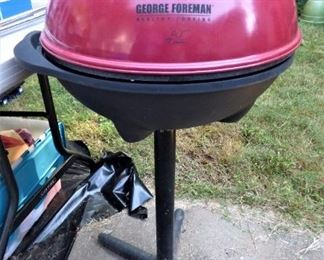 Electric George Foreman Standing Grill