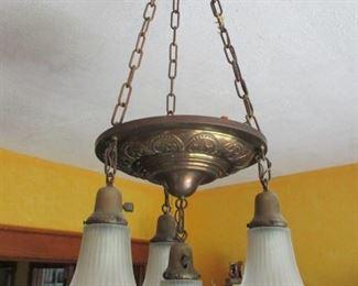 Antique Brass Ceiling Fixture