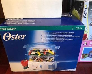 Oster food steamer in box