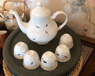 fish tea set