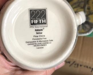222 Fifth Adelaide dish sets - new in box - multiples