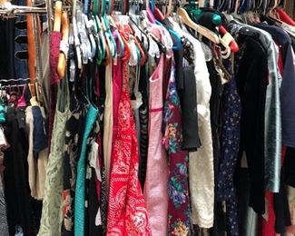 clothing - mainly size xs-m - many with tags
