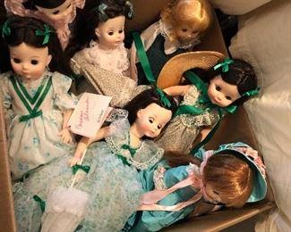 Scarlett Madame Alexander dolls