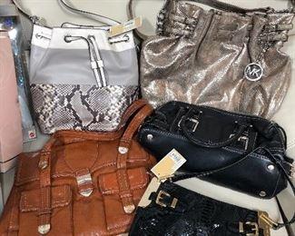 Michael Kors handbags with tags