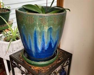 drip glaze pottery