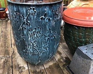 glazed garden / indoor plant pottery / planters
