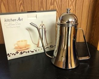 stainless coffee pot - multiples