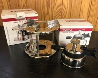 stainless burners / stands